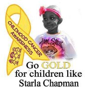 Team Starla Support Page This is the support page for Starla's journey with Acute Myeloid Leukemia. This may include a bit more information than the prayer page, and will also include upcoming benefits for her as well.